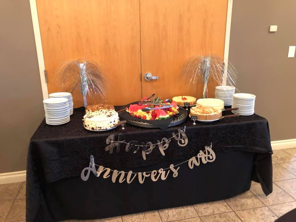 OWIN's 25th Anniversary - Dessert Table